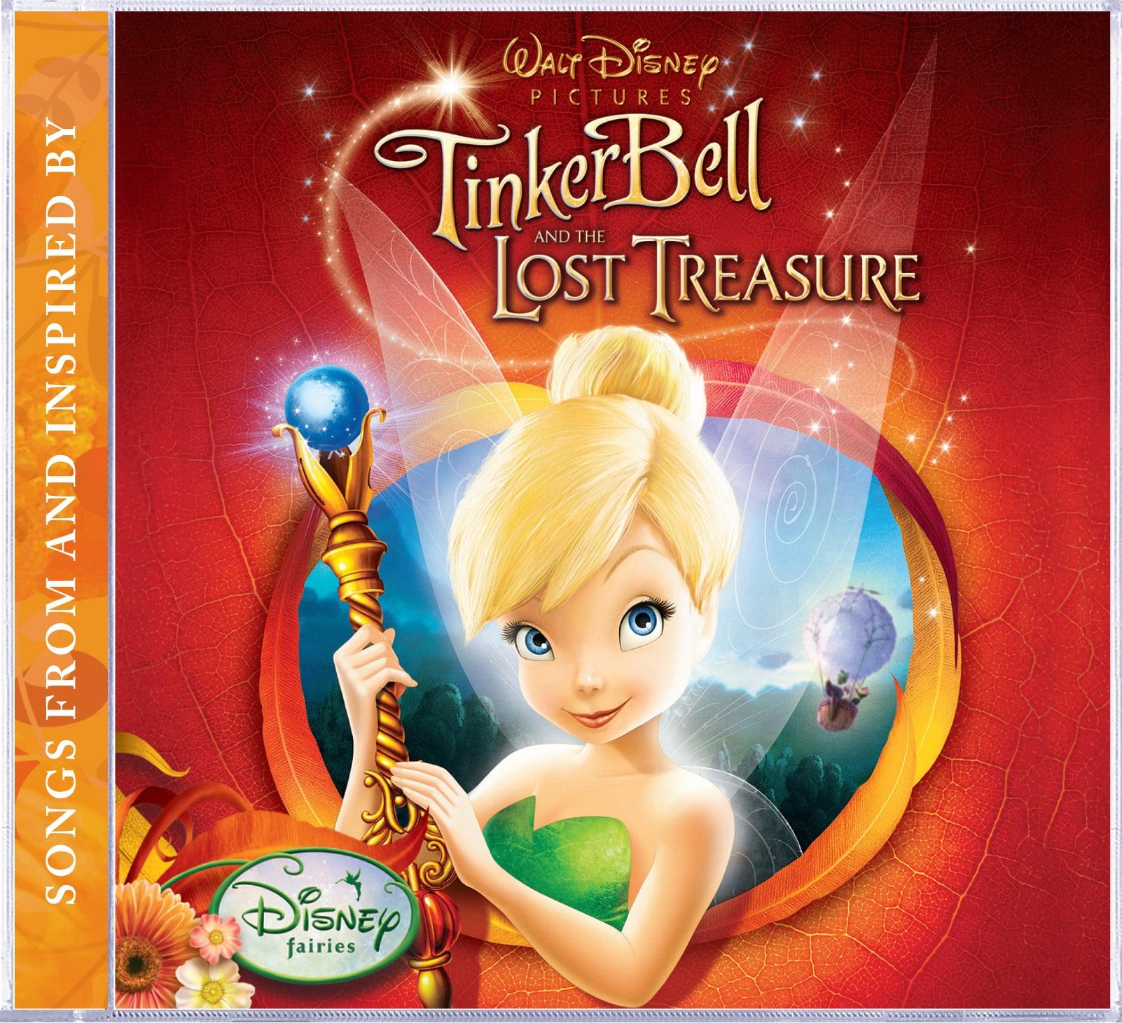 Portada del soundtrack the Tinkerbell y el Tesoro Perdido