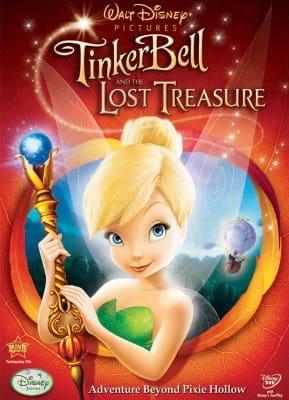 Portada de Tinker Bell y el Tesoro Perdido