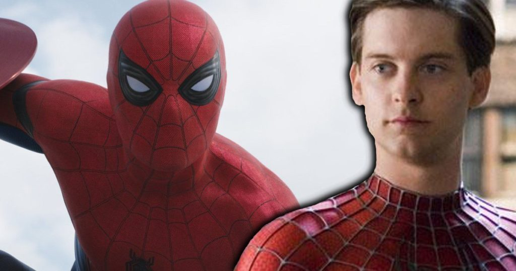 Spider Man Tobey Maguire Tom Holland