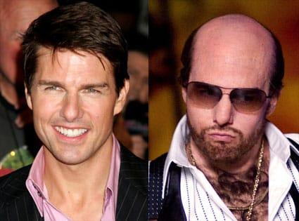 Tom Cruise en la Alfombra roja de Operación Valquiria