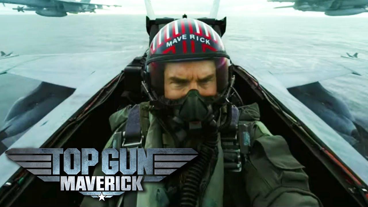 Top Gun: Maverick libera la acción en nuevo tráiler oficial