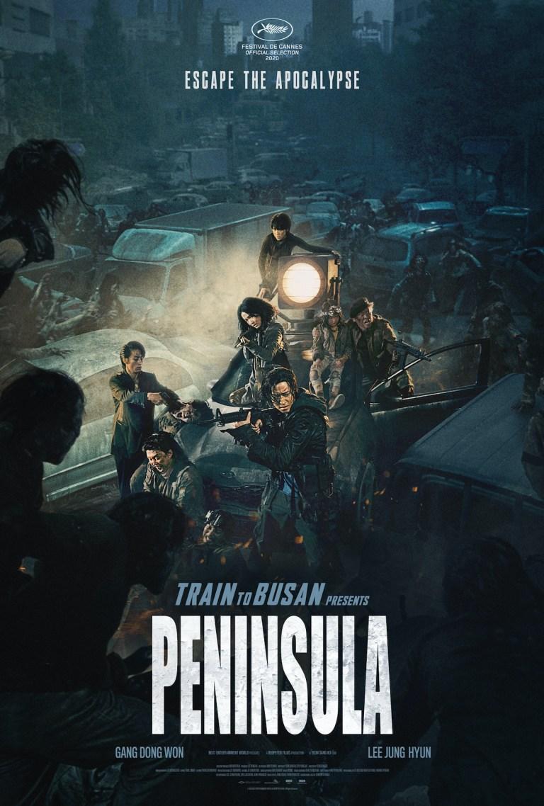 Nuevos pósters de Train to Busan 2: Peninsula, titulada Estación Zombie 2: Península en México