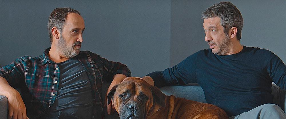 Ricardo Darín y Javier Cámara en la película 'Una Sonrisa a la Vida' (Truman). ©Meritxell