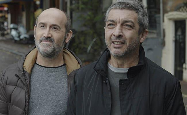 Javier Cámara y Ricardo Darín en la película 'Una Sonrisa a la Vida' (Truman). ©Meritxell.