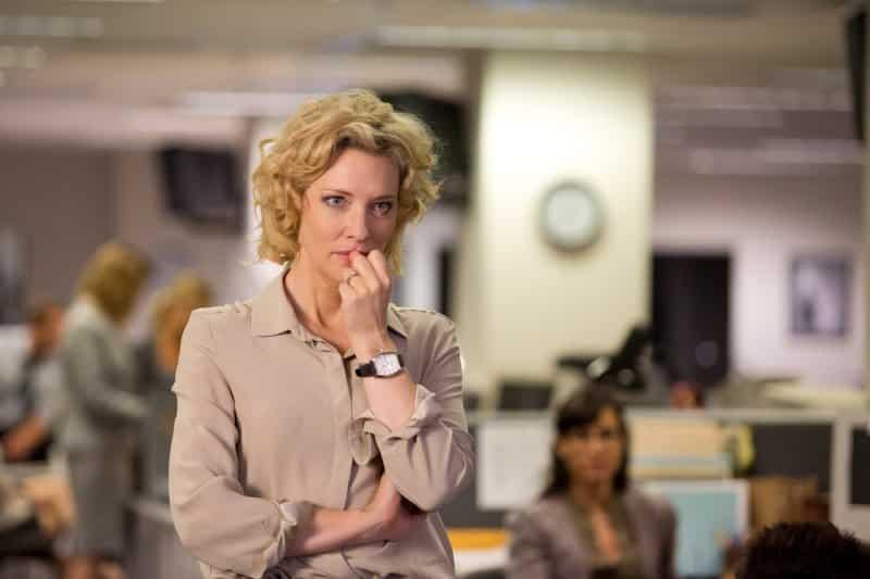 Cate Blanchett entrega una apasionante actuación en 'Conspiración y Poder' (Truth), como la productora de CBS, Mary Mapes. © 2015 - Sony Pictures Classics