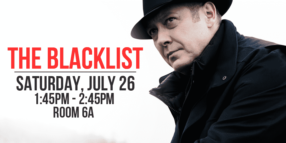 the blacklist comic-con 2014 panel