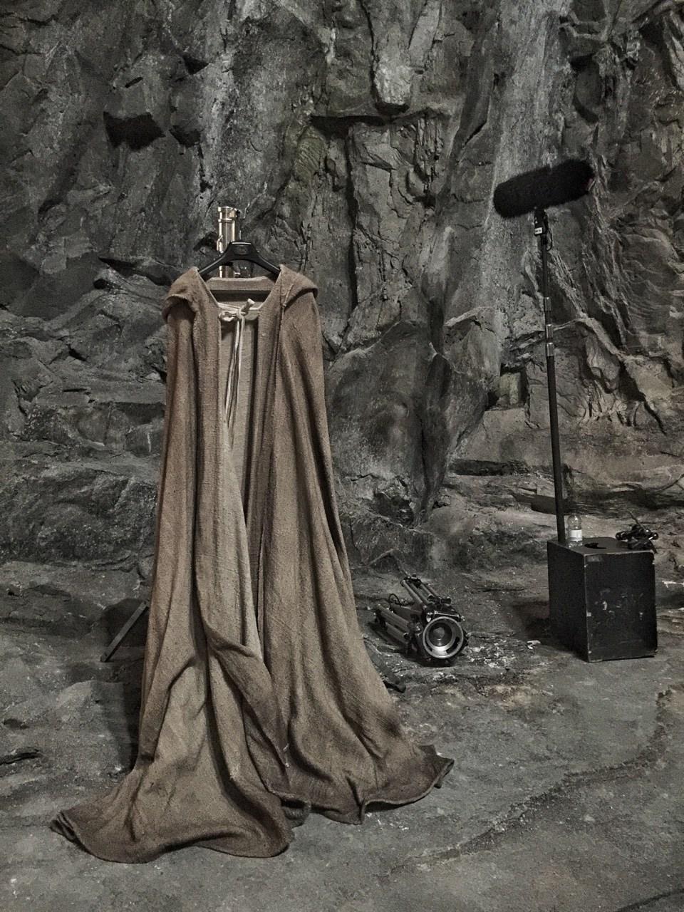 Luke Skywalker... ¿en Ahch-To?