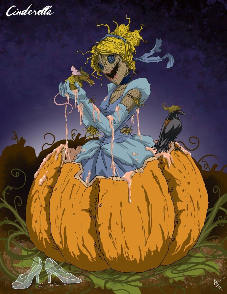 Twisted_Princess__Cinderella_by_jeftoon01