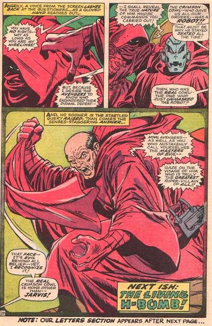 Red Harring. El enemigo de Los Vengadores era Jarvis, quien en realidad era Ultron.