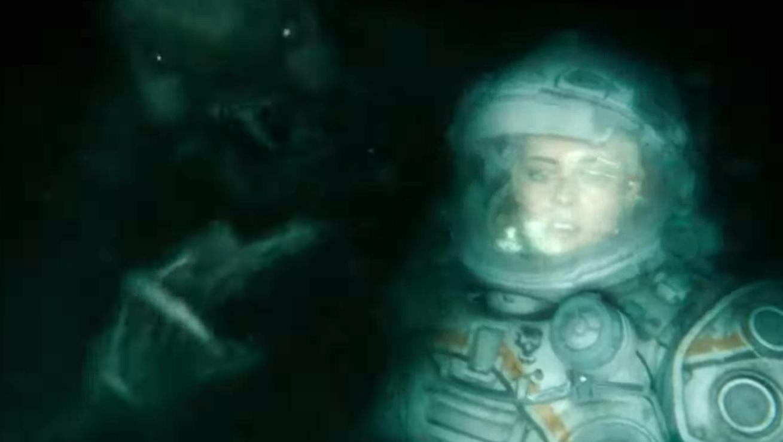 El nuevo spot de Underwater revela al villanesco monstruo bajo el agua