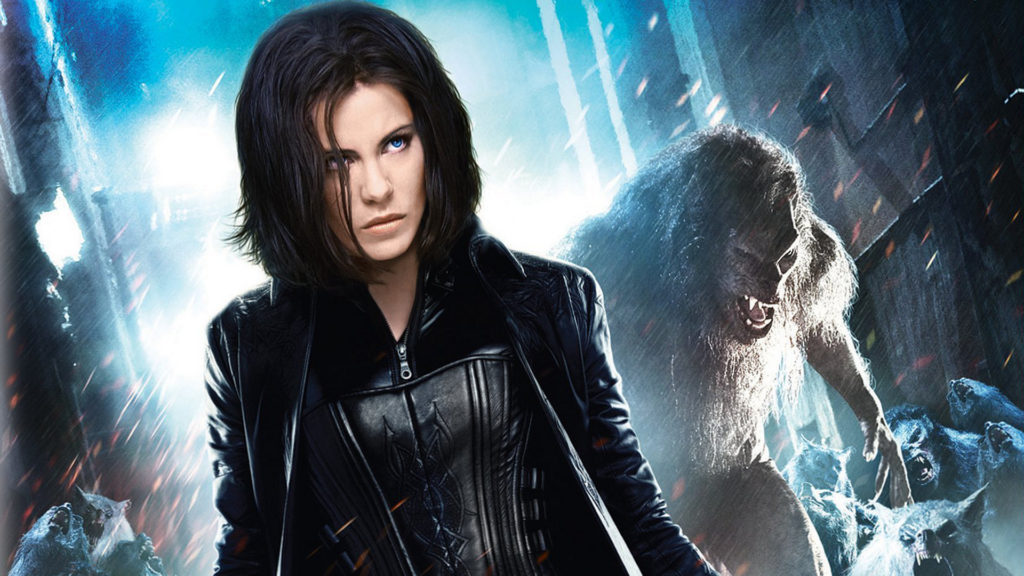 "Kate Beckinsale en ""Underworld"""