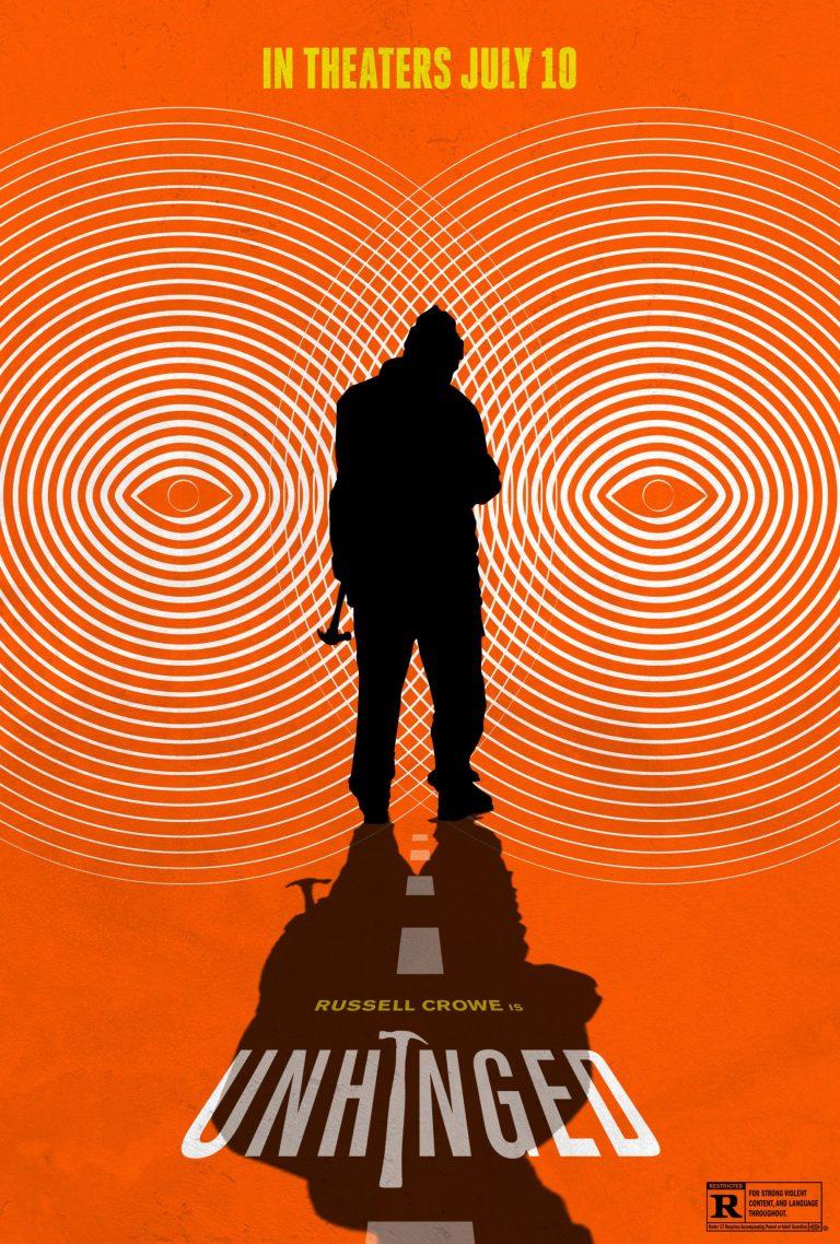 Nuevos pósters de Unhinged rinden homenaje a Hitchcock