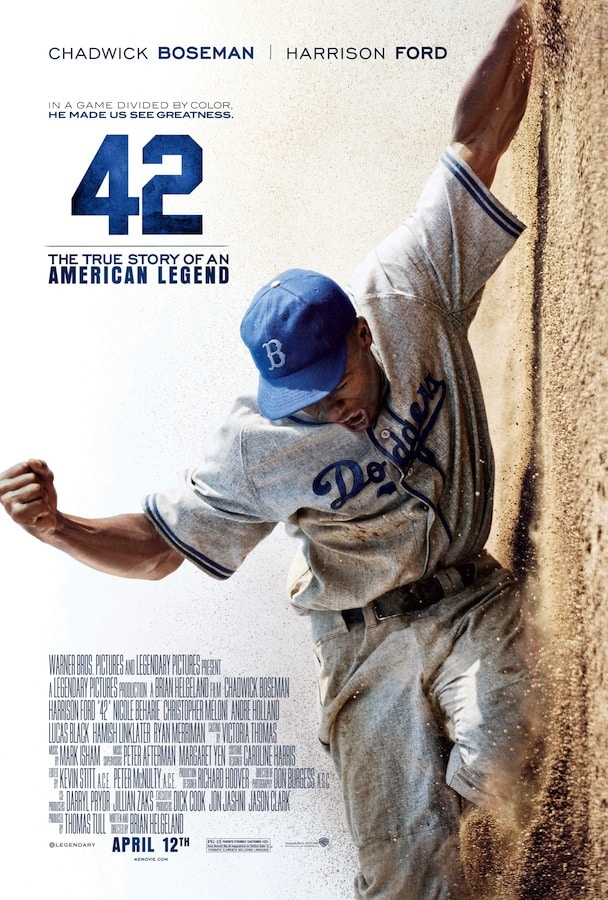 42 / The life story of Jackie Robinson