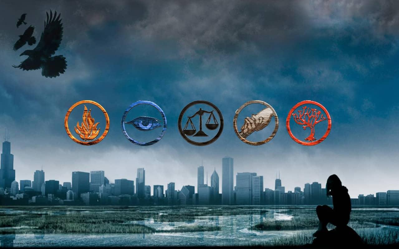 'Divergent' wallpaper