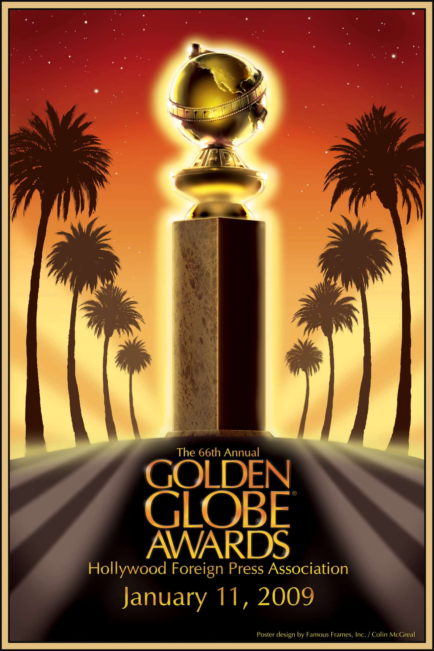 Poster Golden Globes 2009