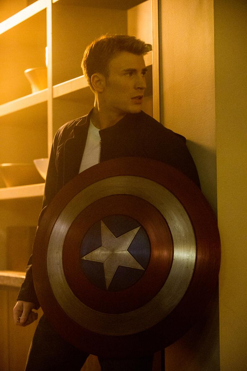 Chris Evans Cap America