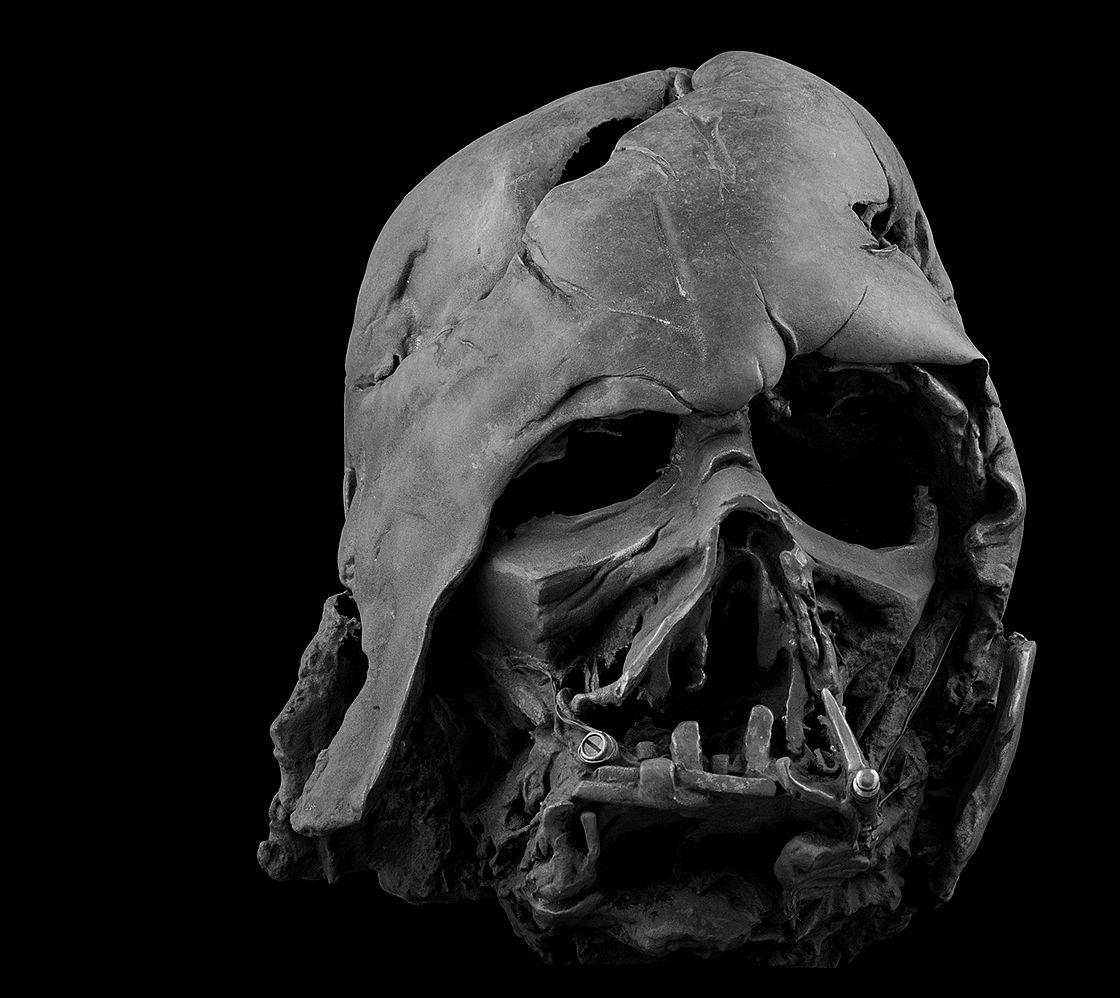Darth Vader Helmet (Melted) LIMITED EDITION OF 500
