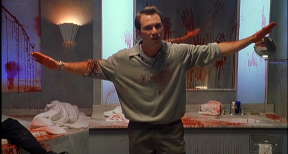 "Christian Slater totalmente desquiciado en ""Very Bad Things"""