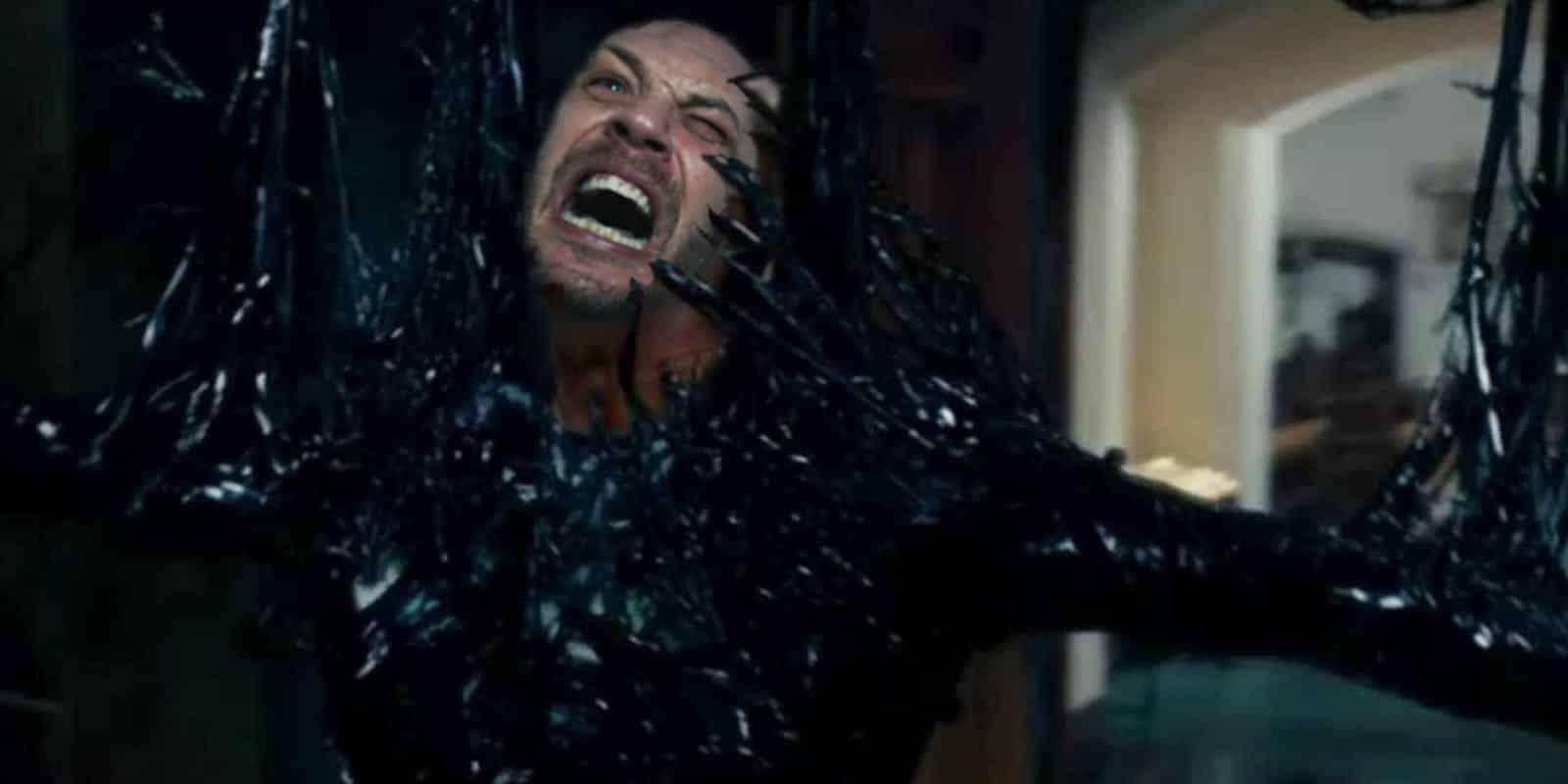 Tráiler de Venom con Tom Hardy convirtiéndose en el simbionte revelado por Sony