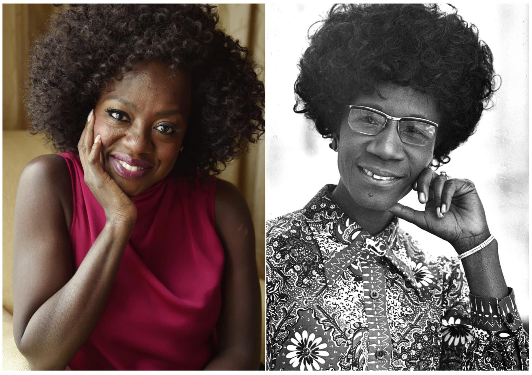 Viola Davis protagonizará The Fighting Shirley Chisholm de Amazon Studios producida por Davis