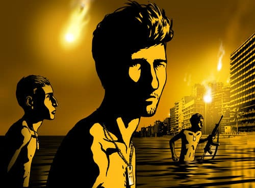 Escena de Waltz with Bashir