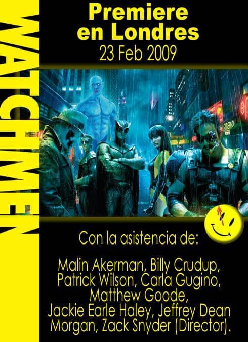 Premiere Watchmen en Londres