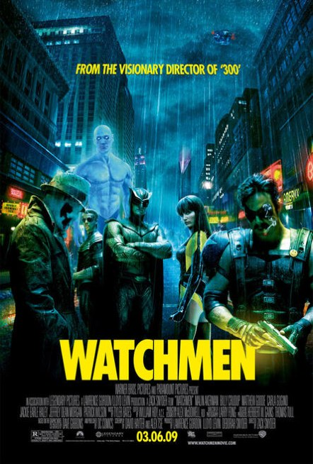 Poster definitivo de Watchmen