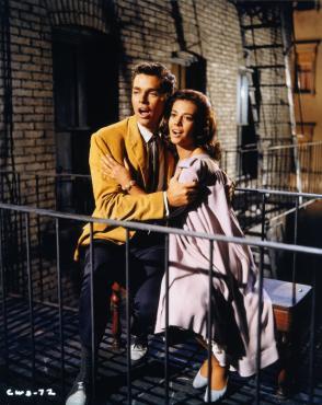 Tony y Maria en WesSide Story