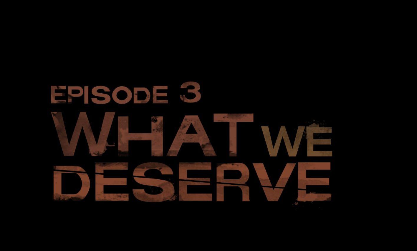 El tercero y último de los episodios con lo que paso con Michonne cuando se separó del grupo