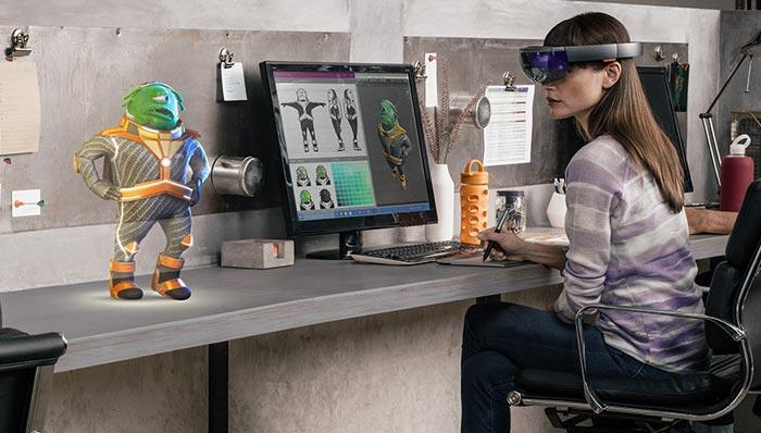 Socios para Windows Holographic