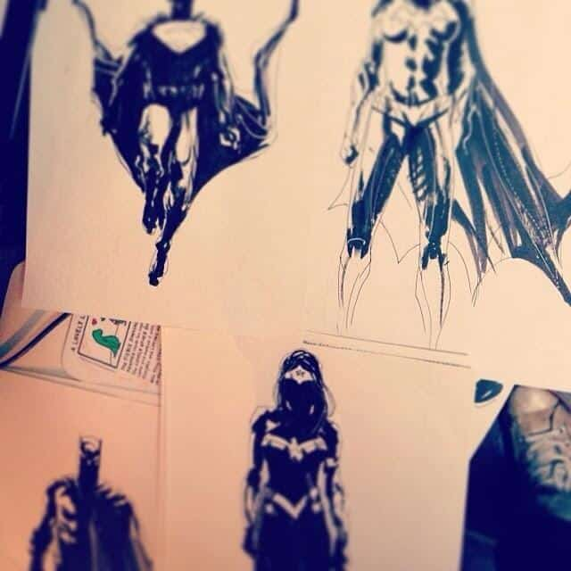 batman vs superman artwork?