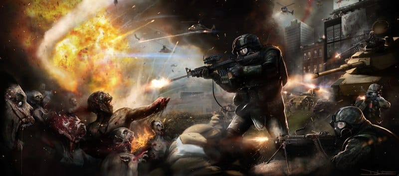 Boceto preliminar de World War Z
