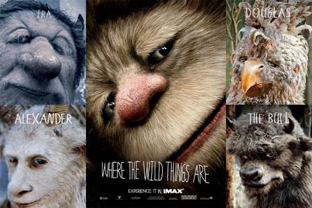 Cartel de Criaturas Salvajes para IMAX