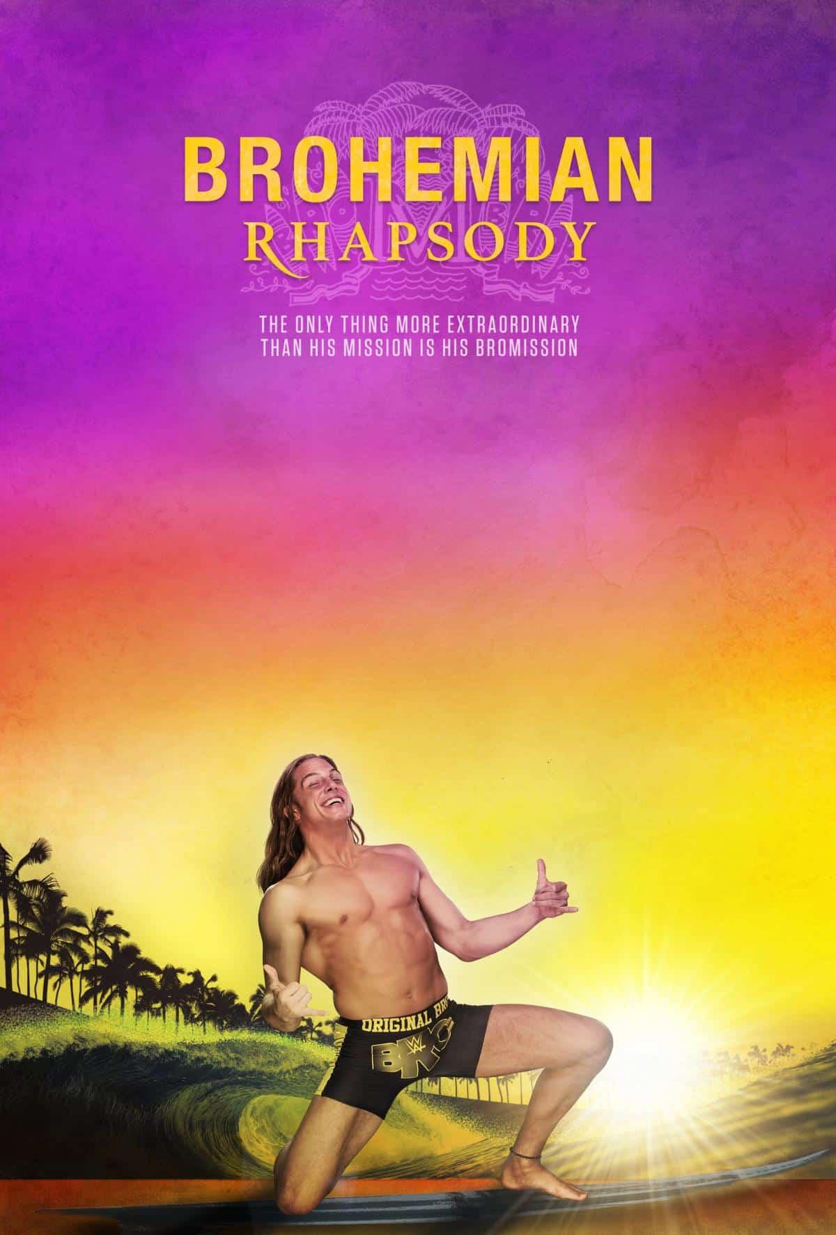 Estrellas de la WWE celebran el Óscar 2019 con parodia de pósters
