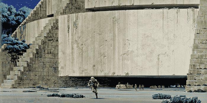 Los conceptos de Ralph McQuarrie para la base de la Alianza Rebelde en Yavin