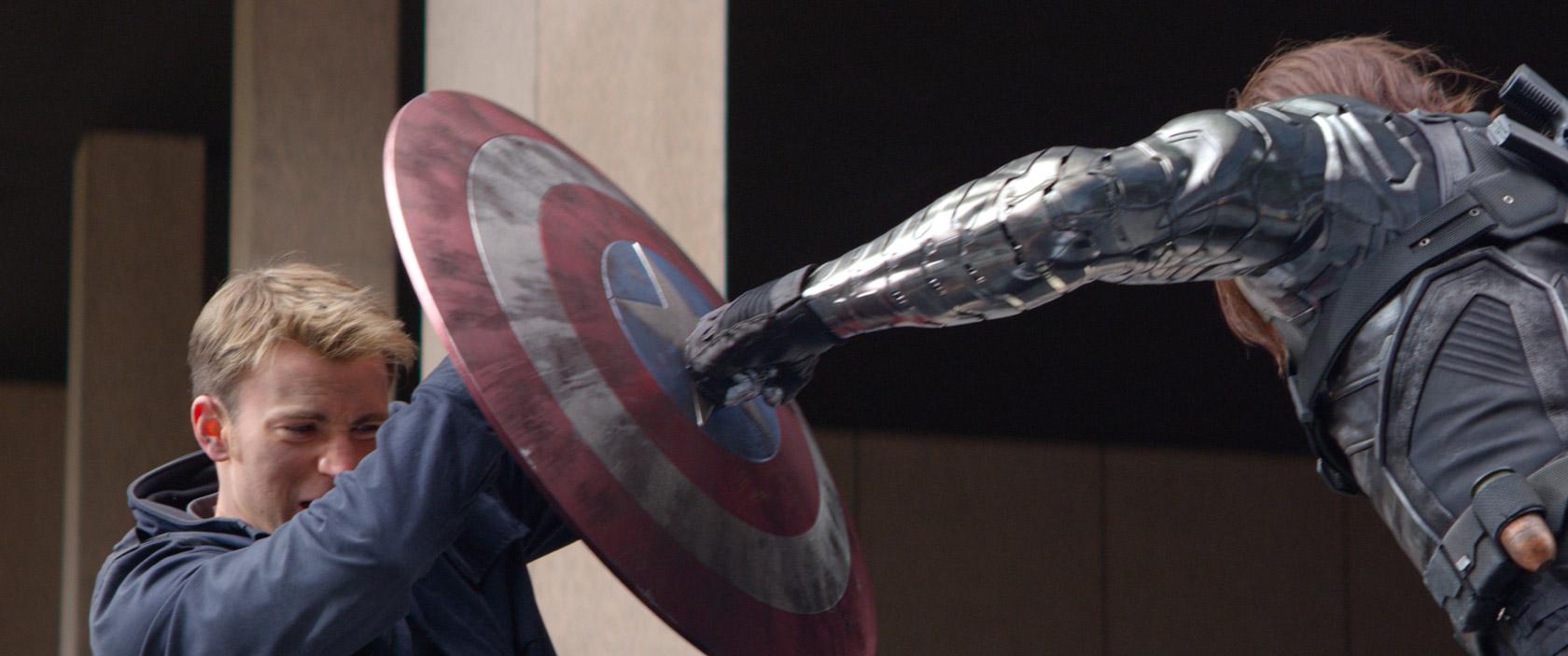Cap America vs Winter Soldier