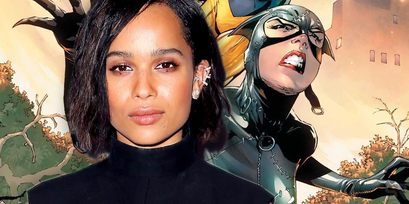 Zoe Kravitz será Catwoman en la película The Batman de Matt Reeves