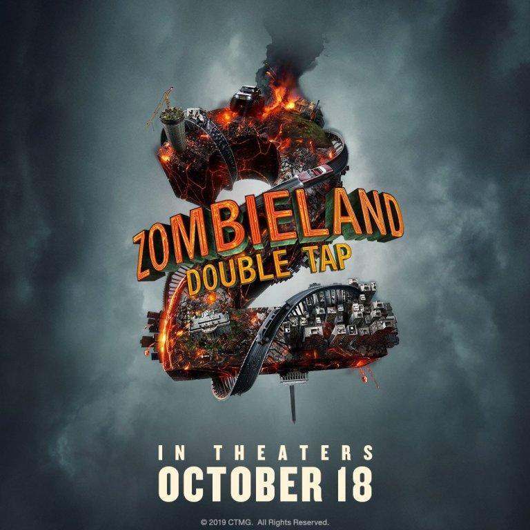Zombieland 2: Double Tap libera la locura en primer póster oficial