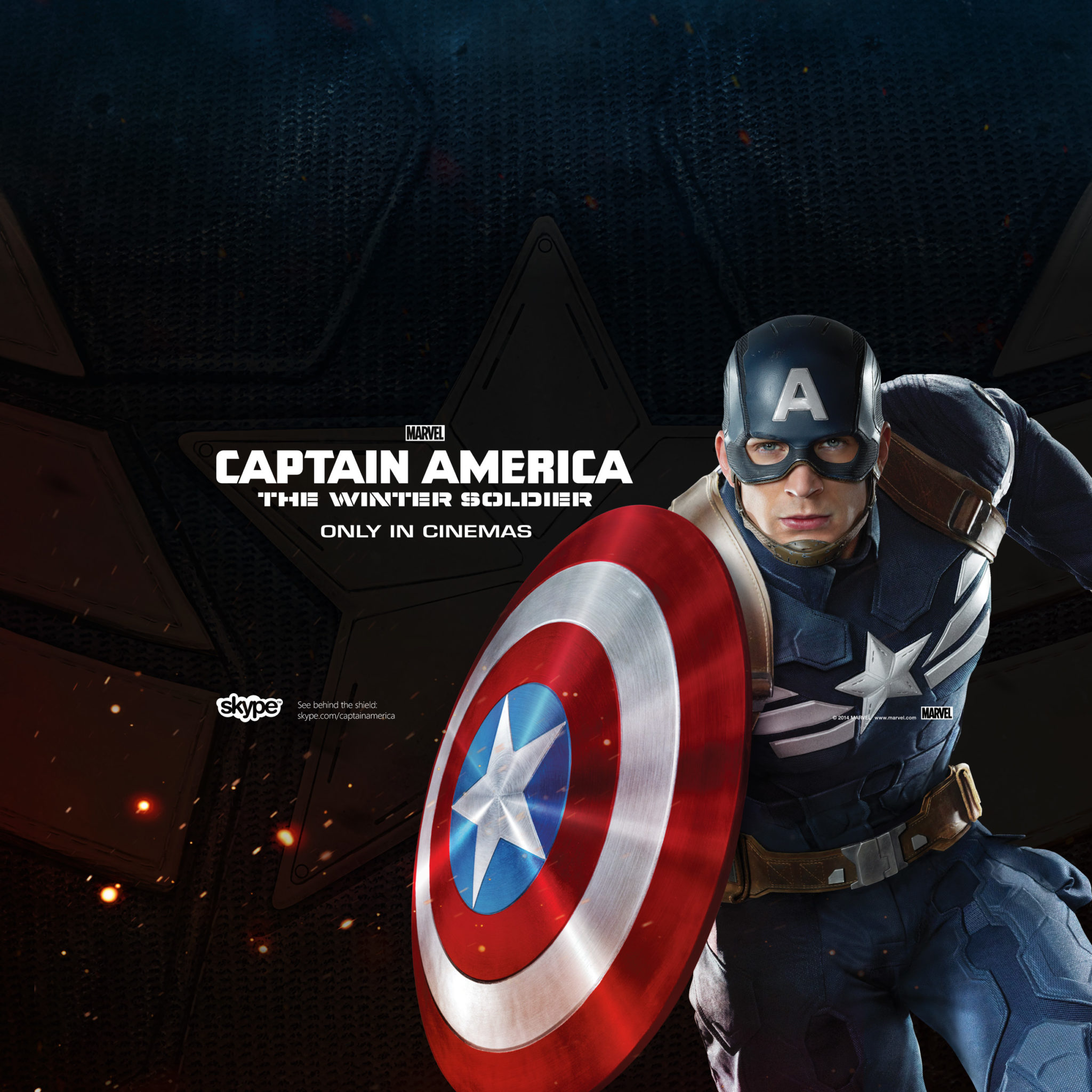 Cap America - The Winter Soldier