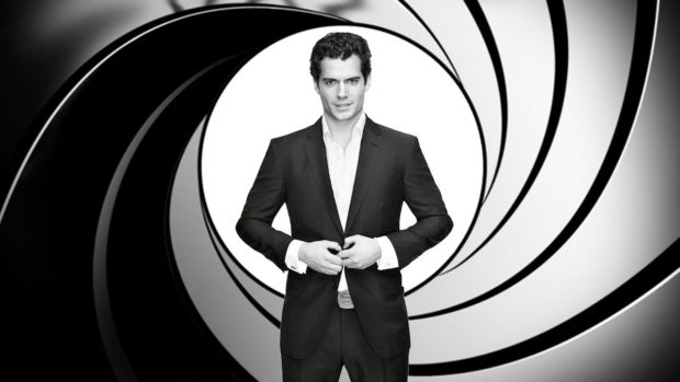 Henry Cavill como James Bond