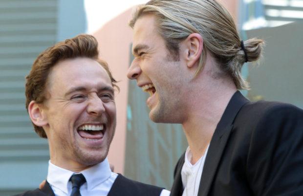 La prueba de Tom Hiddleston para ser Thor