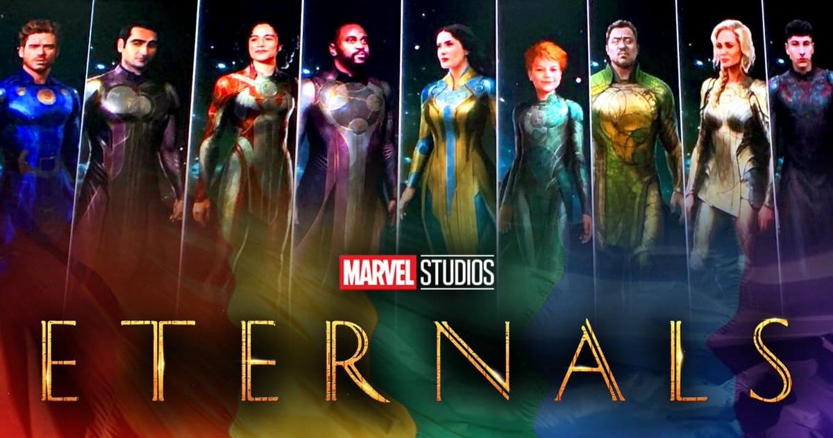 Marvel presenta maravilloso teaser tráiler de 'Eternals' de Chloé Zhao