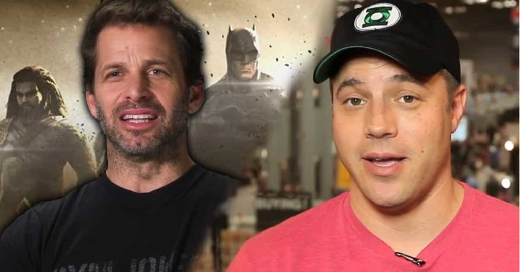 Zack Snyder Geoff Johns