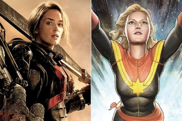 Emily Blunt -Captain Marvel