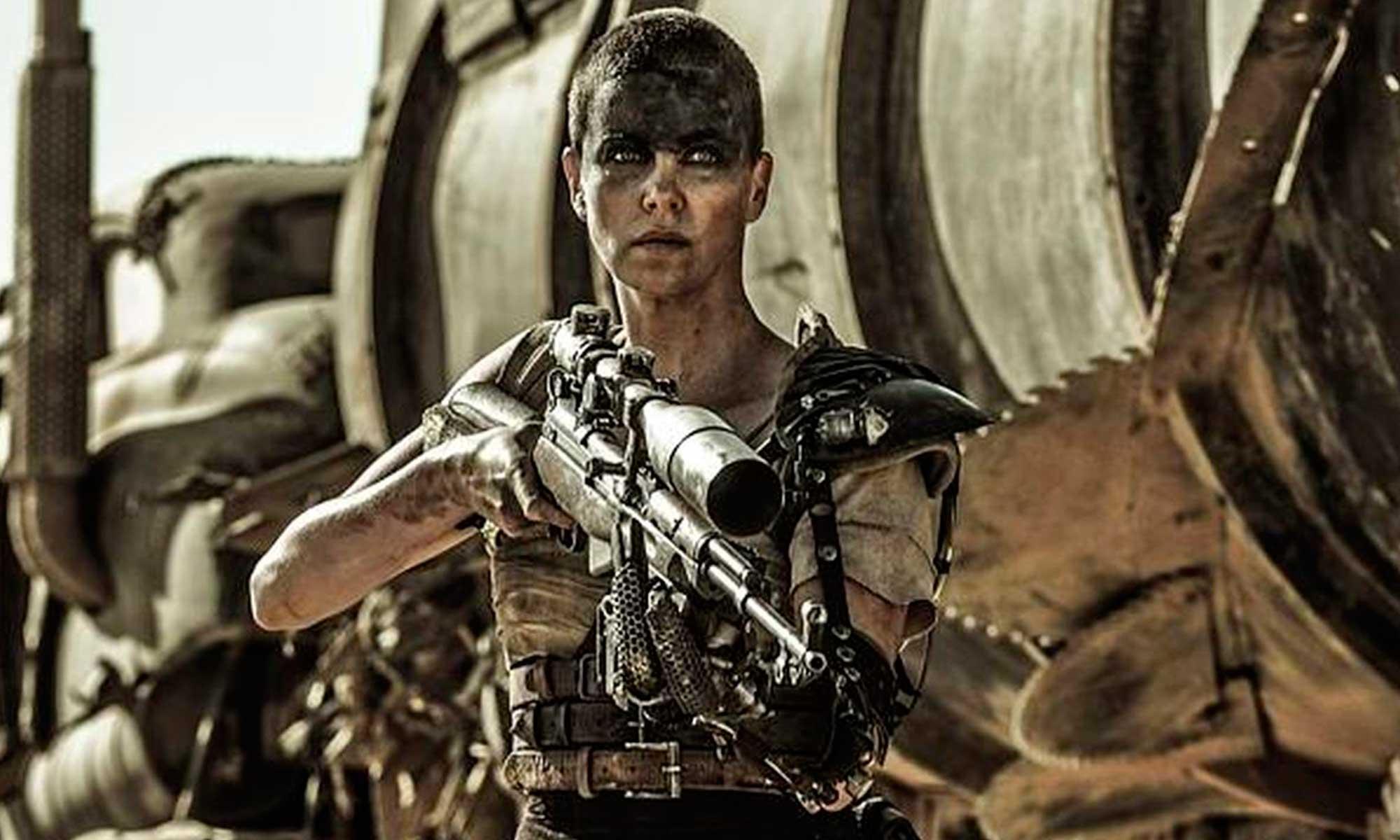 La oscarizada Charlize Theron reacciona a Furiosa, precuela de Mad Max que no protagonizará