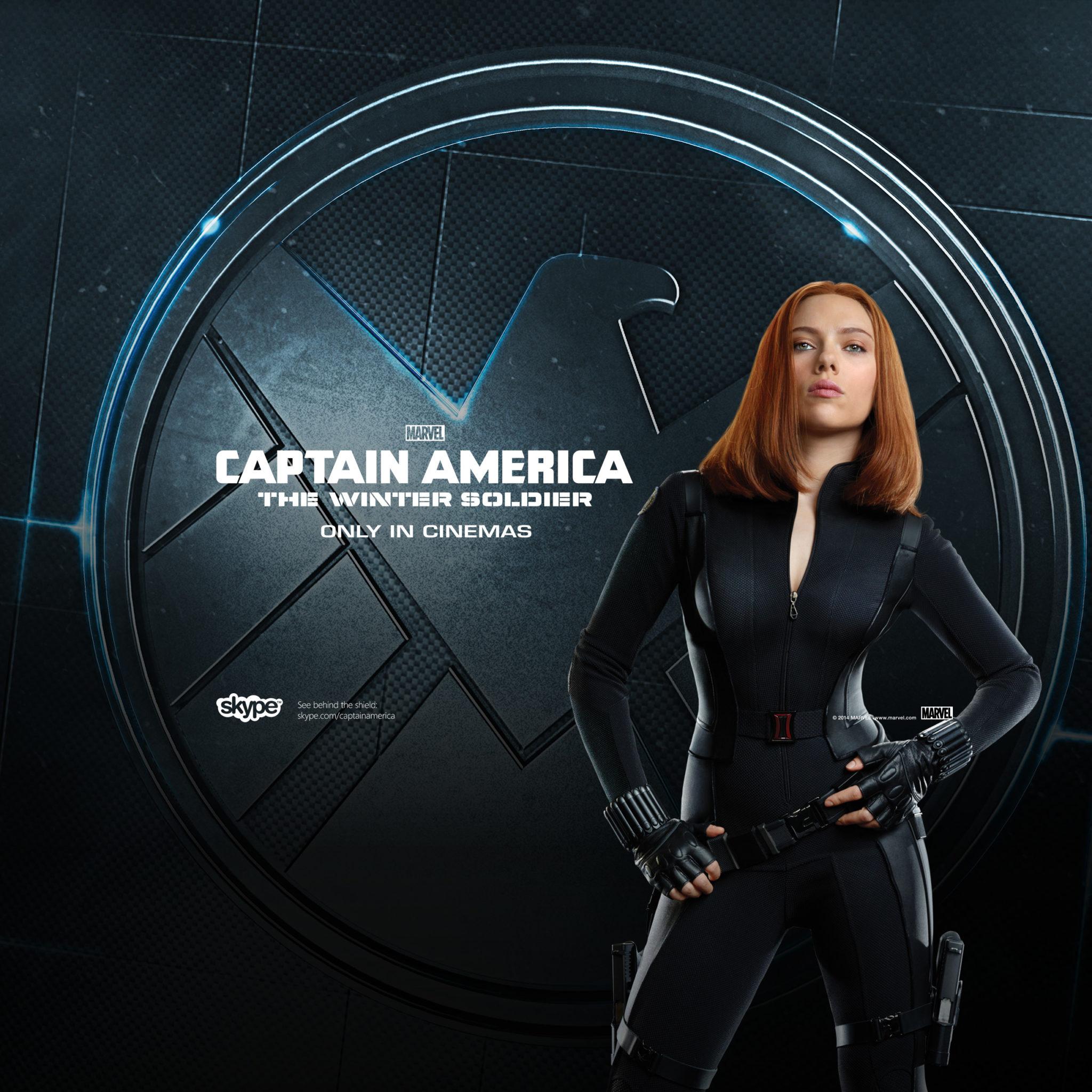 Black Widow Cap America