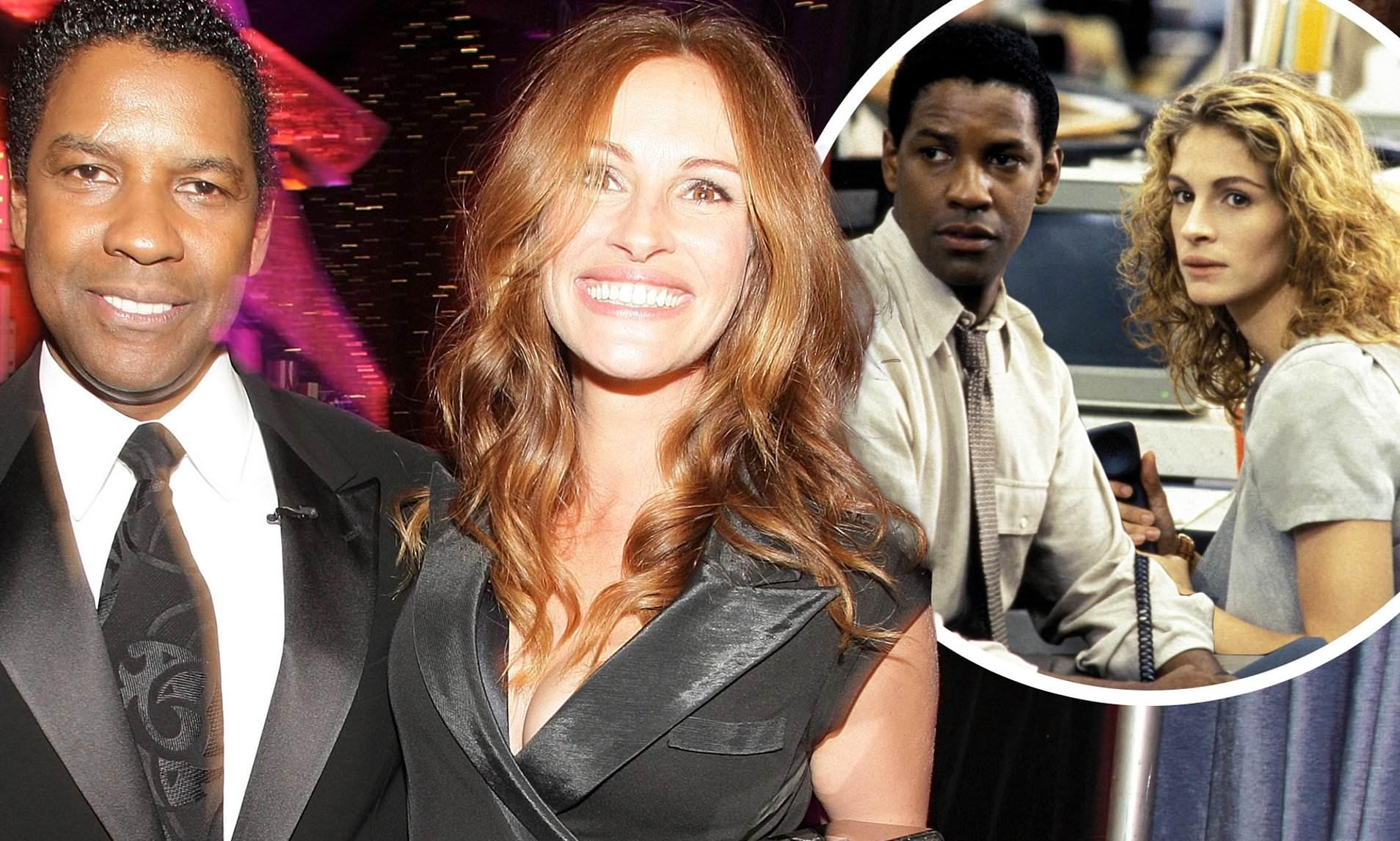 Dream team: Julia Roberts y Denzel Washington harán thriller con Netflix