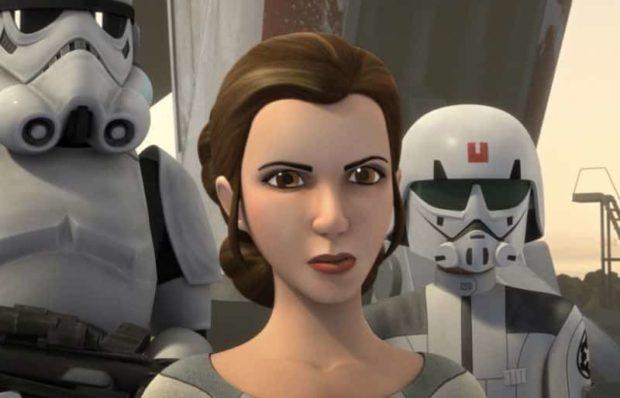 Leia en star wars rebels