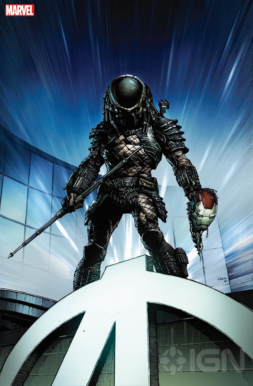 ¿Alien vs Predator vs Avengers? Marvel Cómics es la nueva casa de los villanos icónicos
