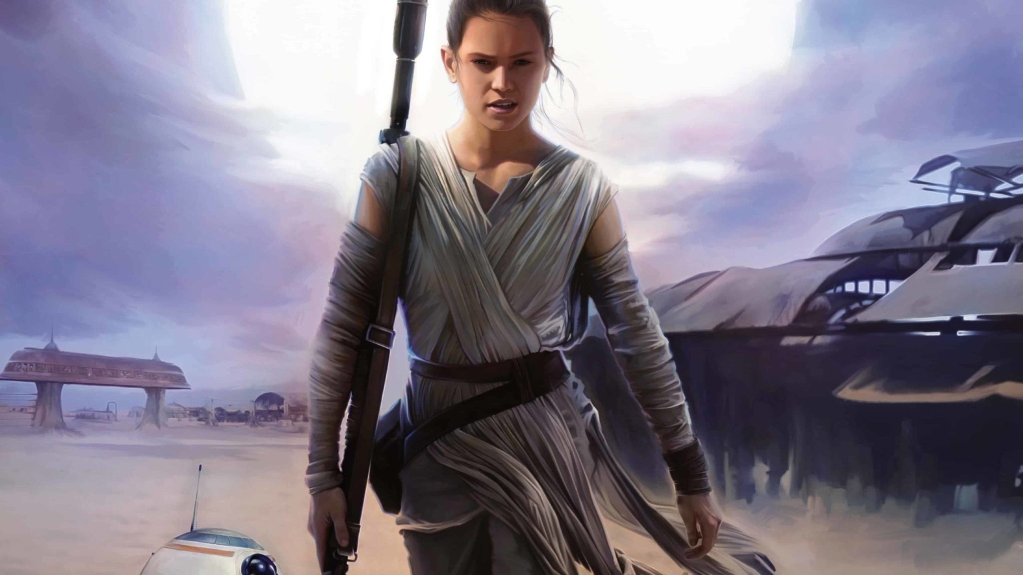 rey daisy ridley star wars el despertar de la fuerza the force awakens